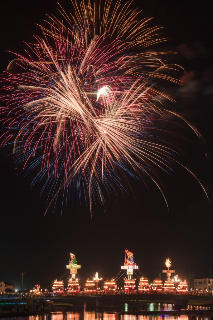 2015.07.20燈籠山祭りと花火6