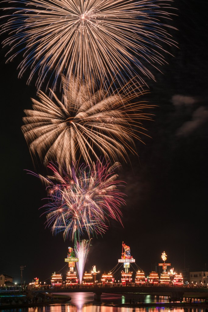 2015.07.20燈籠山祭りと花火5