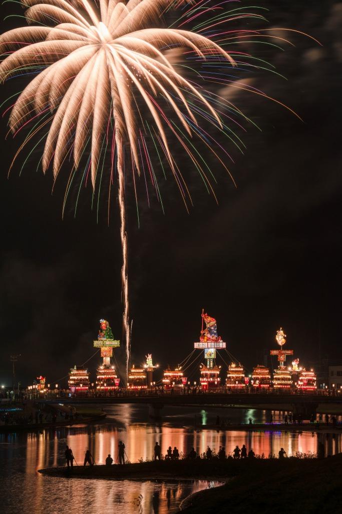 2015.07.20燈籠山祭りと花火4
