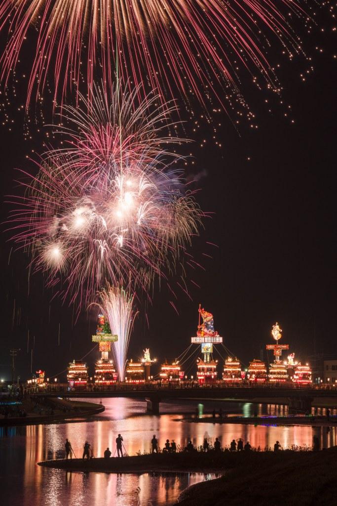 2015.07.20燈籠山祭りと花火3