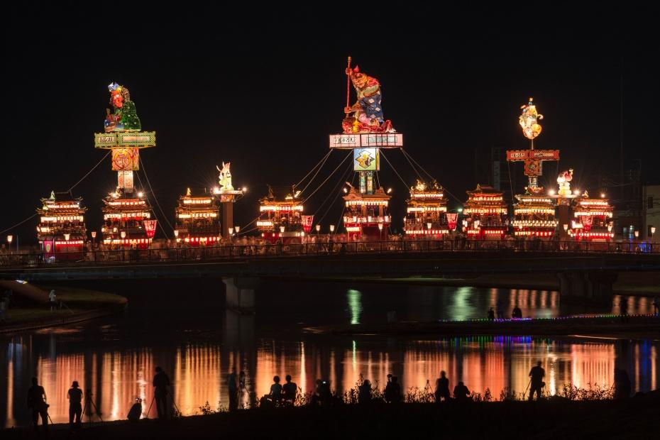 2015.07.20燈籠山祭りと花火2