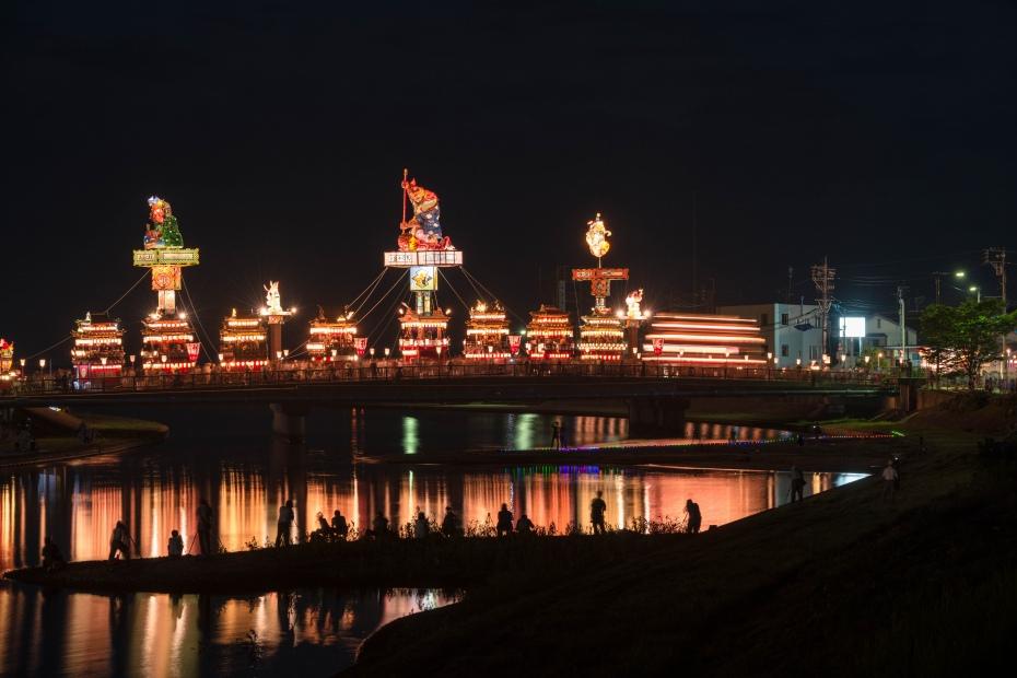 2015.07.20燈籠山祭りと花火1