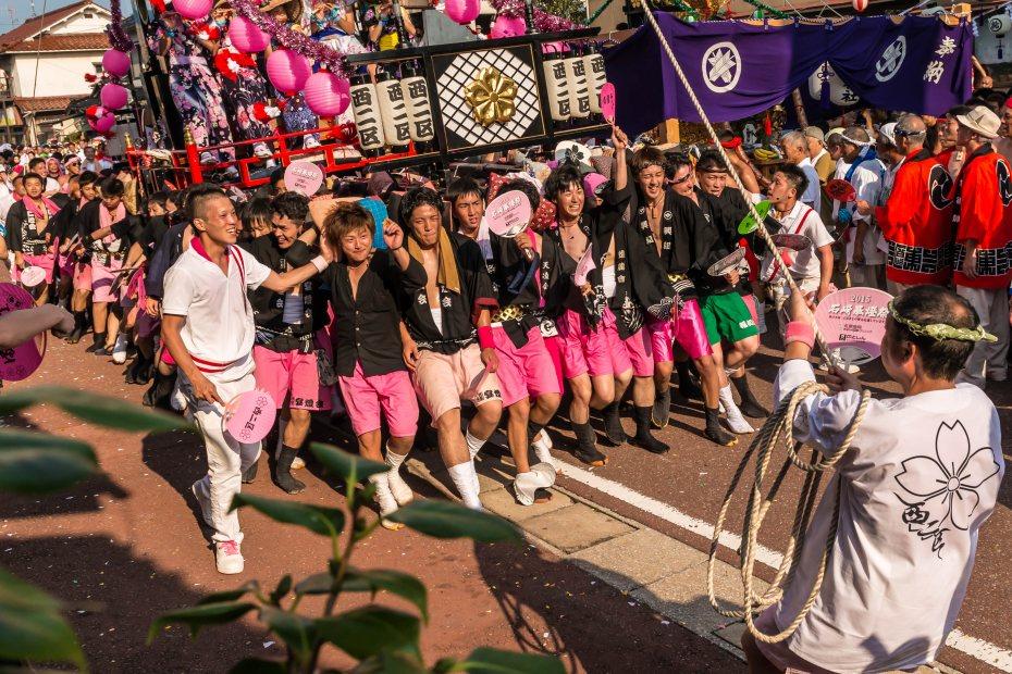 2015.08.01石崎奉燈祭の堂前乱舞13