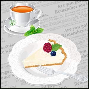 チーズケーキ_紅茶
