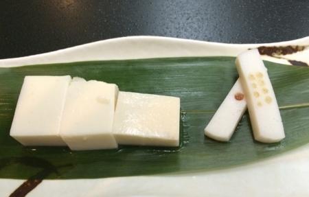 最後のお豆腐