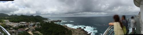 灯台からの光景