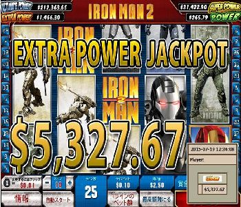 IRON MAN-2JACKPOT5327Win