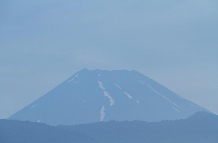 23日 4-55 今朝の富士山