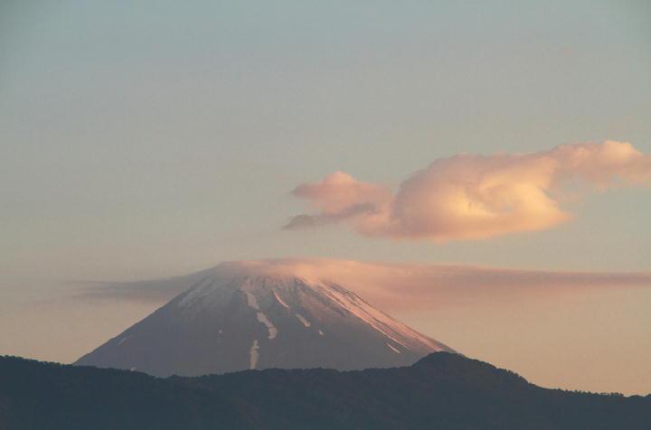 24日 4-53 今朝の富士山