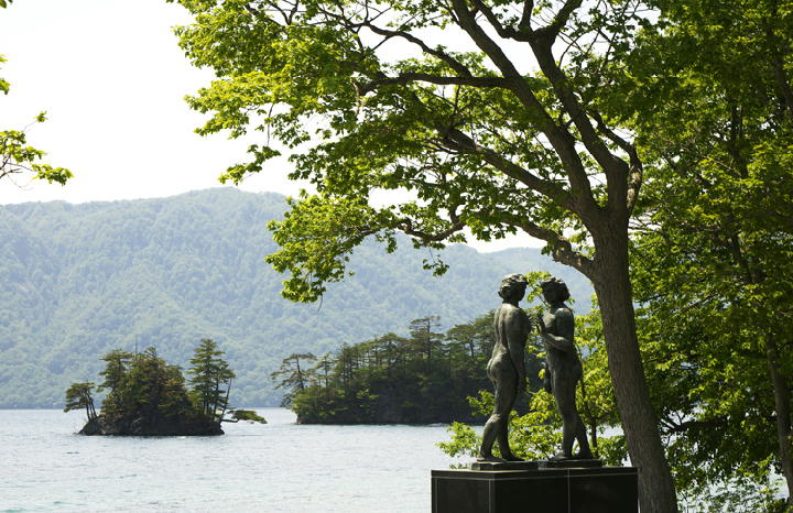 田沢湖-乙女の像-079