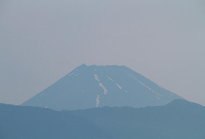 26日 4-41 今朝の富士山