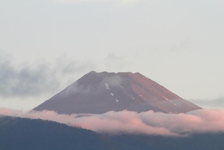 15日 4-52 今朝の富士山