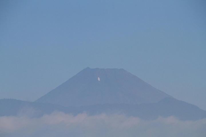 8月5日 今朝の富士山-1