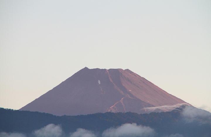 6日 5-05 今朝の富士山
