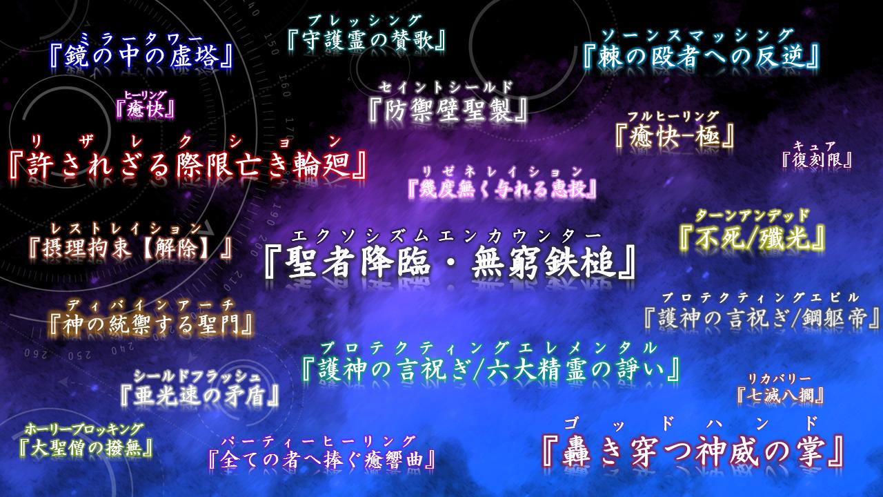 Fate風BISスキル