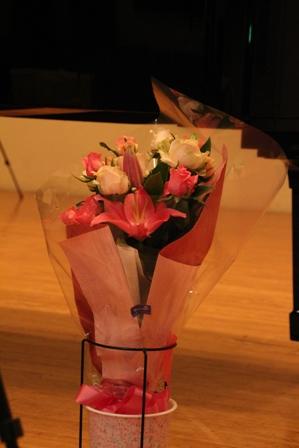2015年 発表会講師花束 ピンク