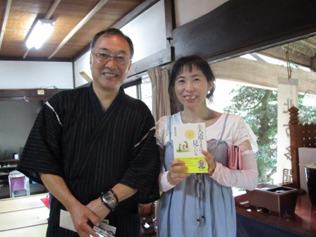2015年8月福泉寺・浄友先生と