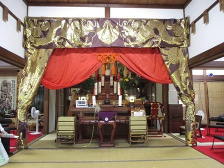 2015年8月・福泉寺 御本堂