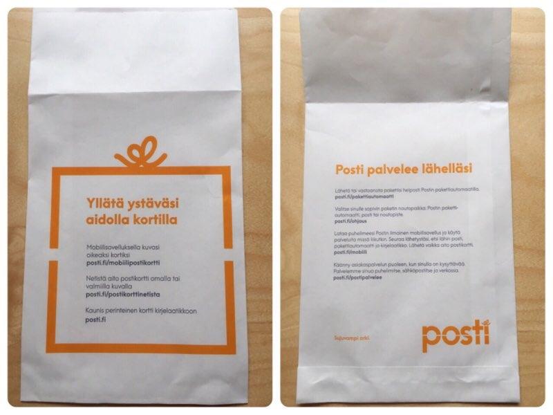 posti封筒
