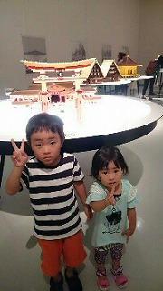 長崎の歴史博物館で