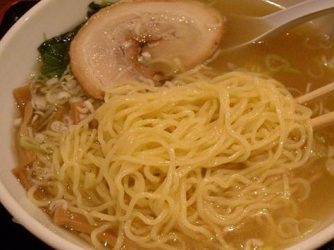 わか家・H26・9 塩らぁ~めん 麺
