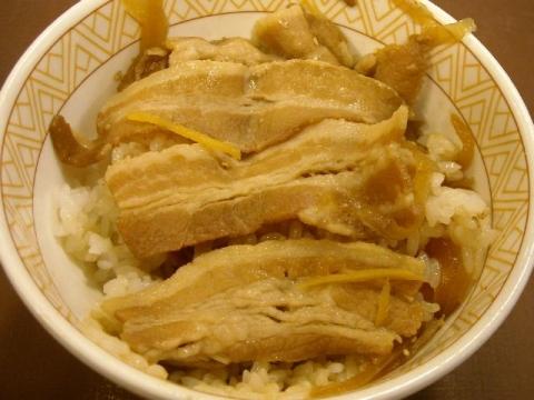 すき家 三条東裏館店・H27・5 豚丼2