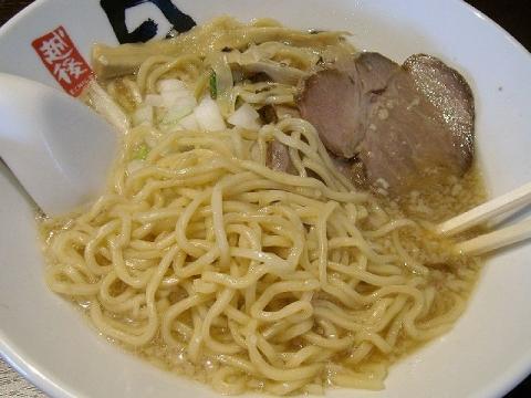日の出製麺 保内工場・H27・7 煮干しらーめん 麺