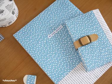 waterdrop ブックカバーセット