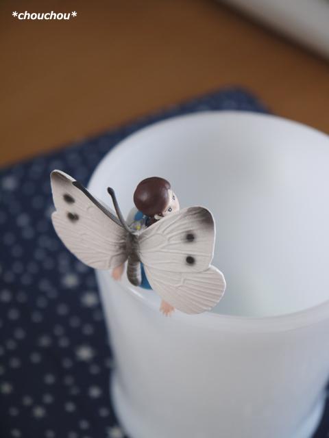フチ子さん 蝶々