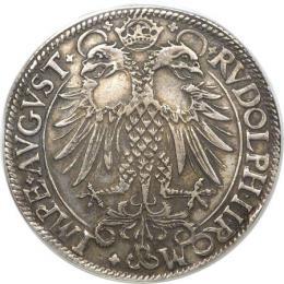 ニュルンベルク ライヒスターラー(帝国ターラー)銀貨  1581年XF45(PCGS)