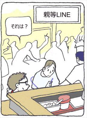 親等LINE①