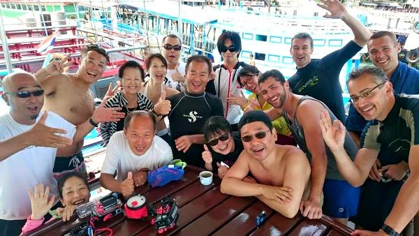 タオ島 バースデー ダイビング