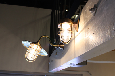マリンライト 船舶ランプ 真鍮 壁付け 屋外内兼用