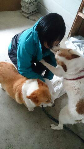 メルちゃんのキス攻撃