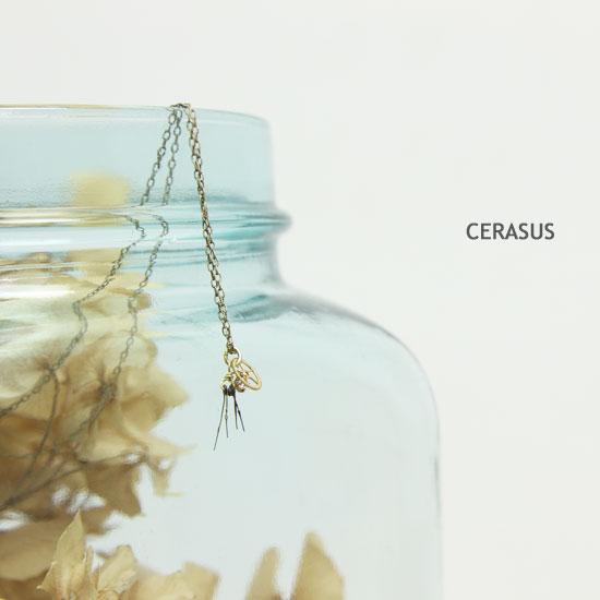 CERASUS(ケラスス) Clock work フリンジネックレス