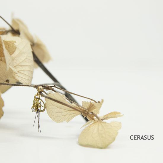 CERASUS(ケラスス) Clock work フリンジ ピアス