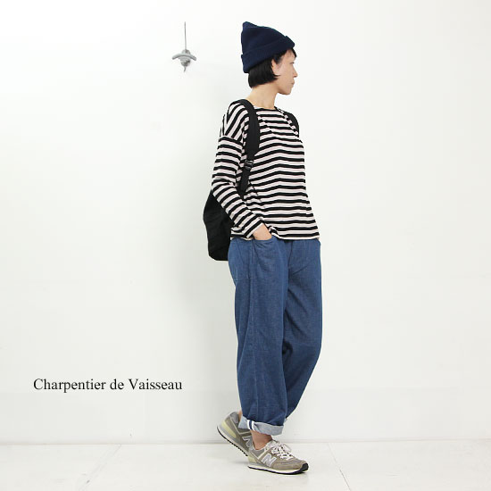 Charpentier de Vaisseau(シャルパンティエ ドゥ ヴェッソ) Work Denim Pants 2