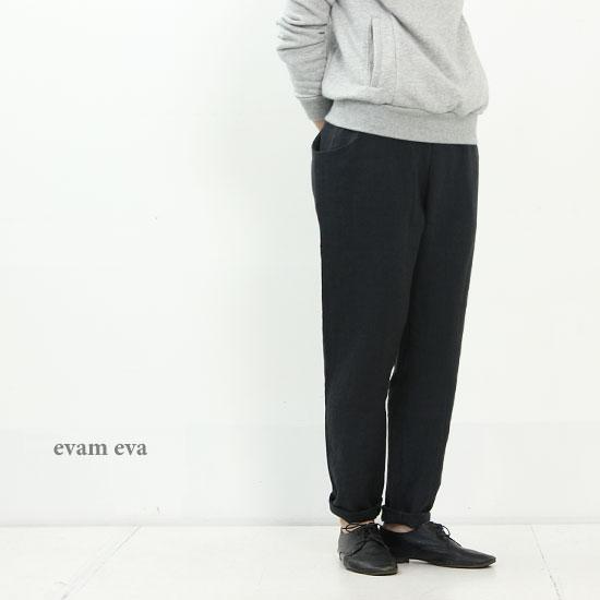 evameva (エヴァムエヴァ) Dropped pocket pants