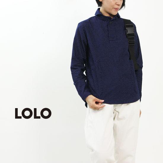 LOLO (ロロ) 定番プル インディゴ染め
