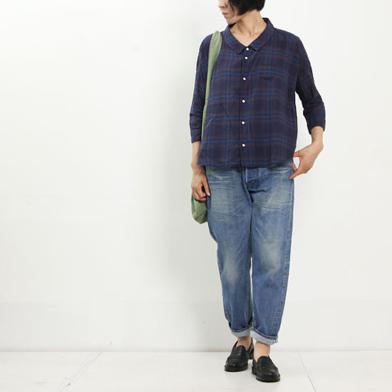 Ordinary Fits (オーディナリーフィッツ) BARBER SHIRT CHECK&STRIPE
