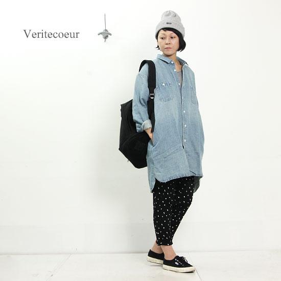 Veritecoeur (ヴェリテクール) デニムシャツ