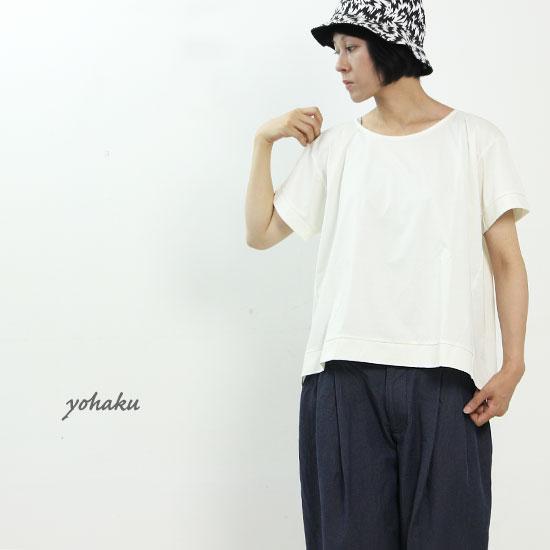 yohaku(ヨハク) drop shoulder tee
