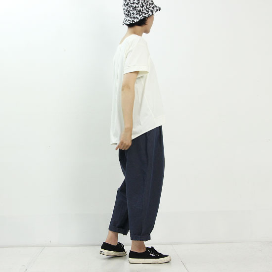 yohaku(ヨハク) drop shoulder tee