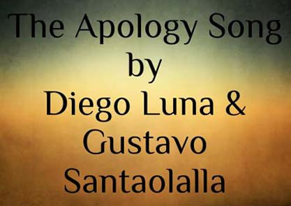 THE APOLOGY SONG