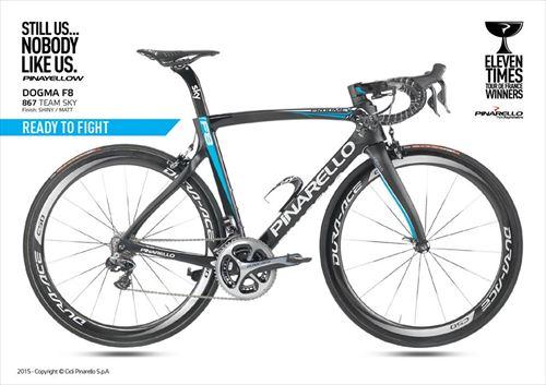 Pinarello2016-DOGMA F8-867 RHINO TEAM SKY