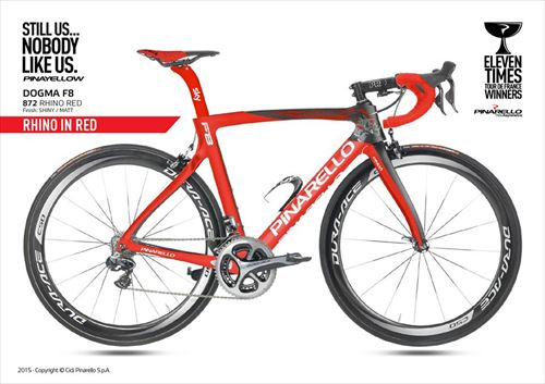 Pinarello2016-DOGMA F8-872 RHINO RED