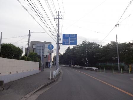 002印旛沼方面へ向かいます