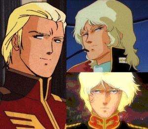 金髪だがテュルク系と混血したシャア=クワトロ=キャスバル