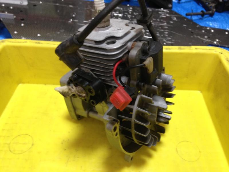 エンジンのメンテ1