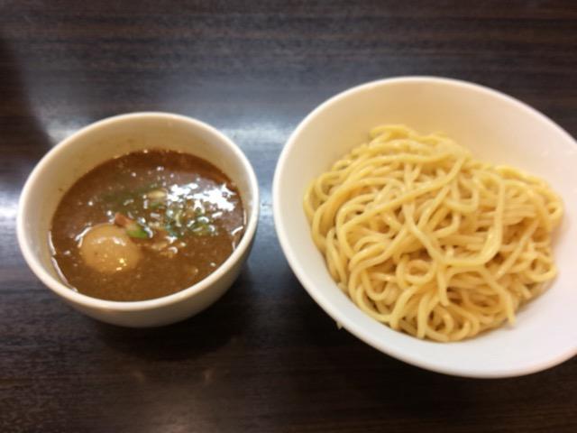 浜田山 つけ麺+味玉